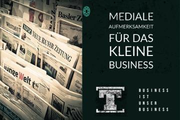 Mediale Aufmerksamkeit für das kleine Business