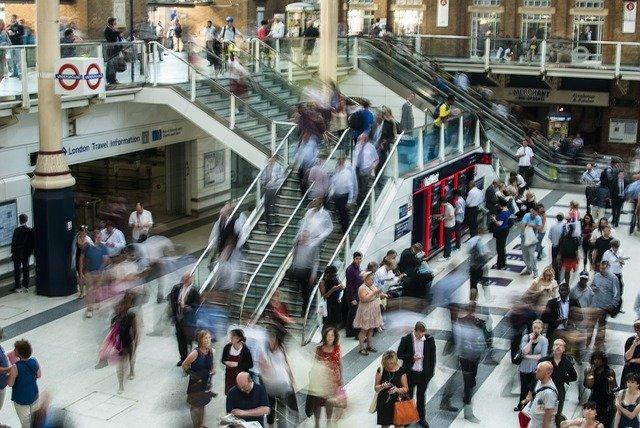Produktivität Geschäftsreise - öffentliche Verkehrsmittel