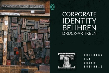 talerwelt Corporate Identity bei Ihren Druck-Artikeln